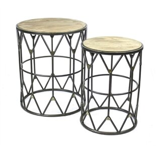 Compare & Buy Penman Cultured 2 Piece Nesting Tables by Union Rustic