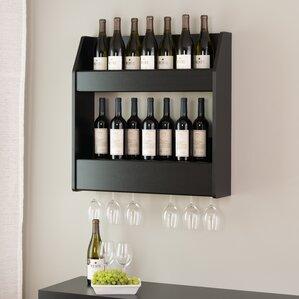 chancey 24 bottle wall mounted wine rack
