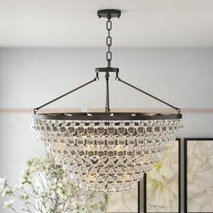 Willa Arlo Interiors Fabrice 15-Light Crystal Chandelier