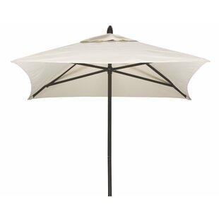 Commercial 6' Square Market Umbrella by Telescope Casual