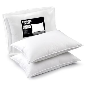Down and Feathers Pillow (Set of 2) by Sharper Image