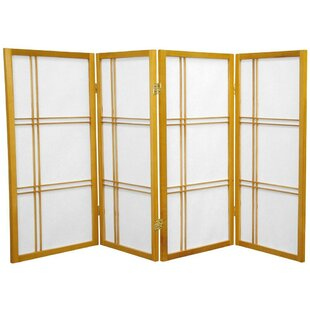 Online Reviews Marla 4 Panel Room Divider ByWorld Menagerie