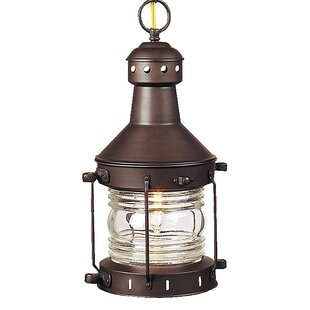 Savings Oakhill 1-Light Outdoor Hanging Lantern By Charlton Home