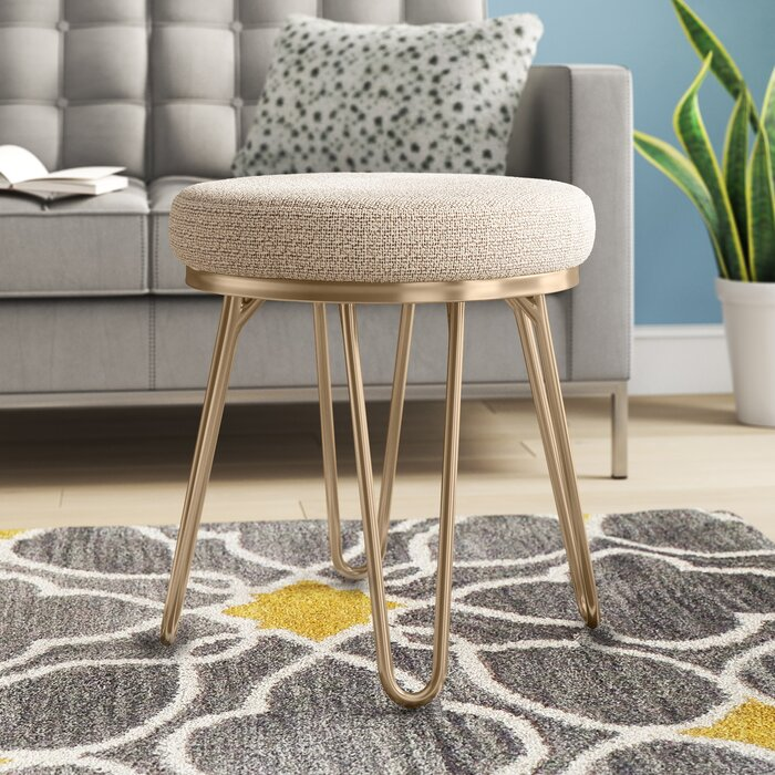 Wondrous Bernard Vanity Stool Gmtry Best Dining Table And Chair Ideas Images Gmtryco