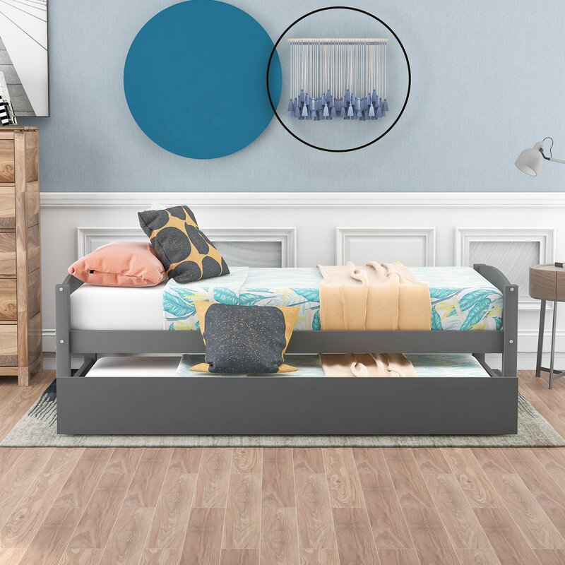 Bircan Twin Daybed with Trundle