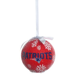 NFL LED Boxed Ball Ornament Set (Set of 2) by Team Sports America