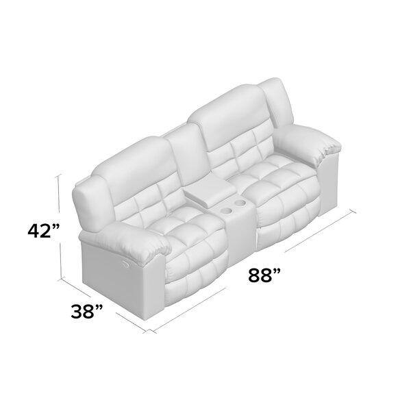 Darby Home Co Henning Reclining 88 Pillow Top Arms Loveseat Reviews Wayfair