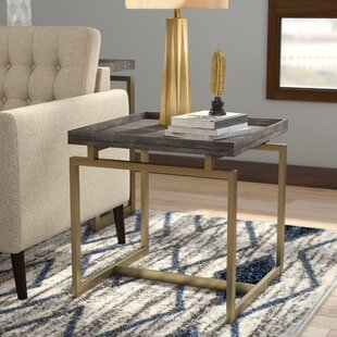 Affordable Crosier End Table By Mercury Row