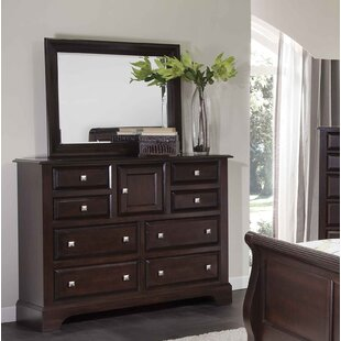 Council 8 Drawer Combo Dresser with Mirror by Fairfax Home Collections