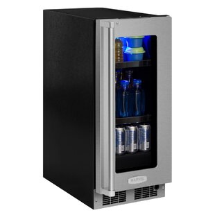 Professional 15-inch 2.7 cu. ft. Undercounter Beverage Center