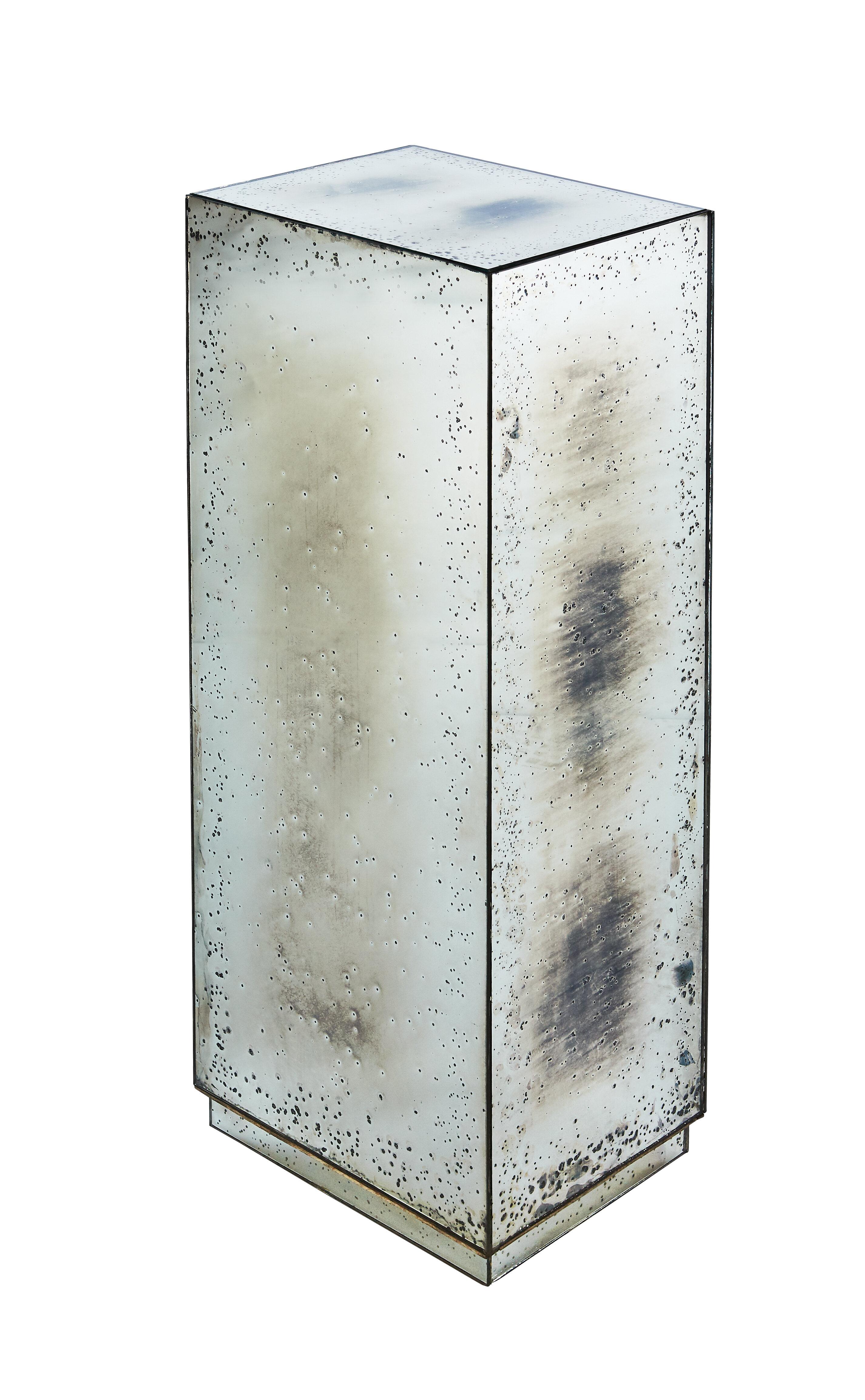 Beveled Column Mirror