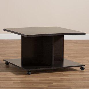 Ebern Designs Jacksonville Wooden Coffee Table
