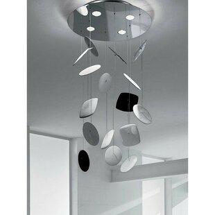 ZANEEN design Afef 4-Light Flush Mount