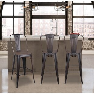 Find Alabaster 30 Bar Stool (Set of 4) by Williston Forge Reviews (2019) & Buyer's Guide