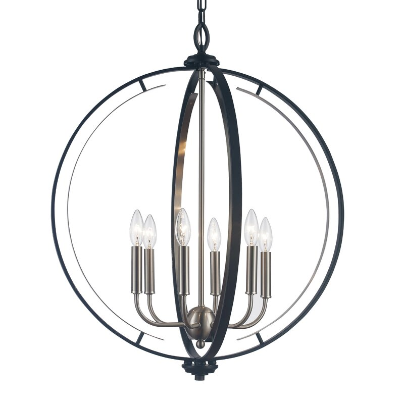Light Unique Globe Chandelier