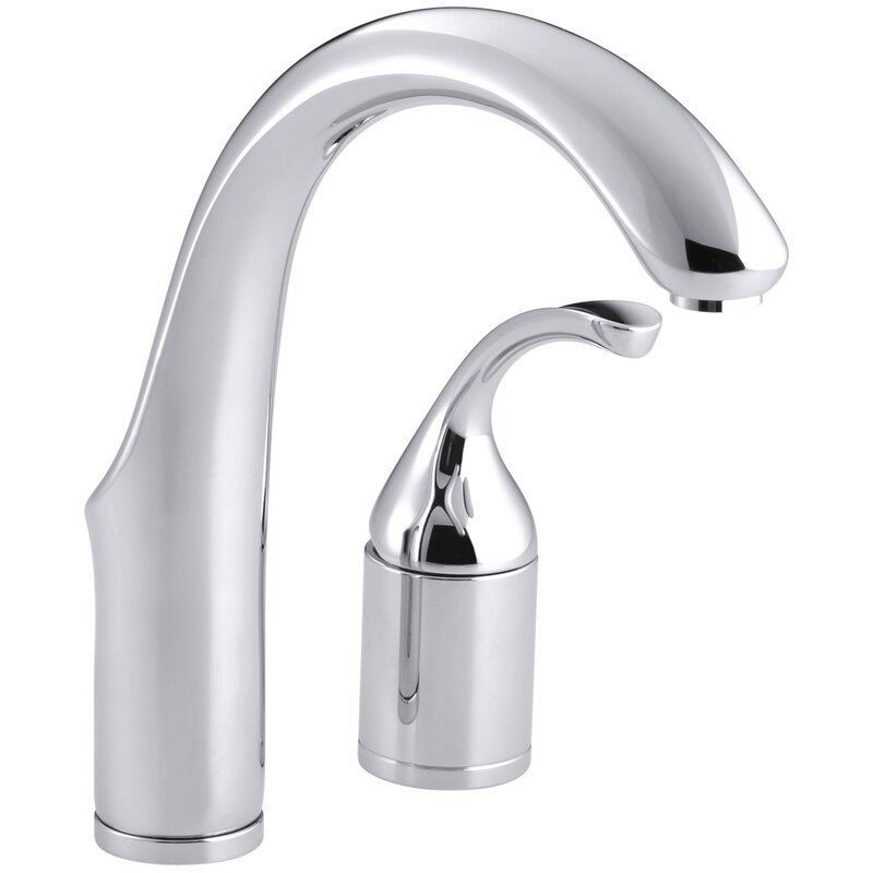 K 10443 Bncp Kohler Forté Two Hole Bar Sink Faucet With Lever