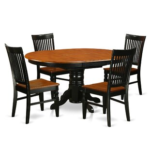Piland 5 Piece Breakfast Nook Dining Set August Grove