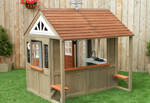 Budget-Friendly Outdoor Playhouses