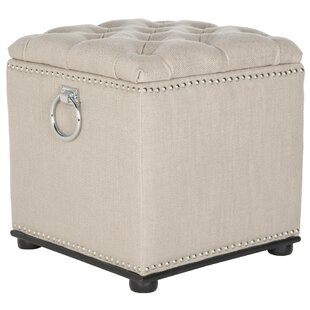 Arturo Storage Ottoman by Safavieh
