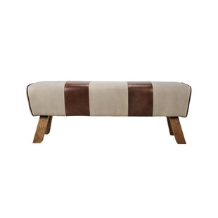 Caples Leather Bench