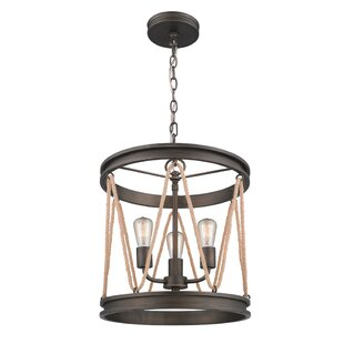 Breakwater Bay Longfellow 3-Light Cylinder Pendant