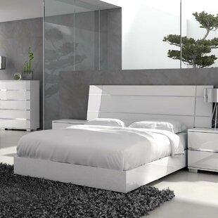 Brayden Studio Salerno California king Platform Bed