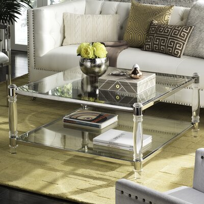 Fine Willa Arlo Interiors Perkins Coffee Table Color Silver Pabps2019 Chair Design Images Pabps2019Com