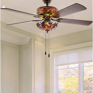 Great choice 52 Nevels 5 Blade LED Ceiling Fan with Remote By Astoria Grand
