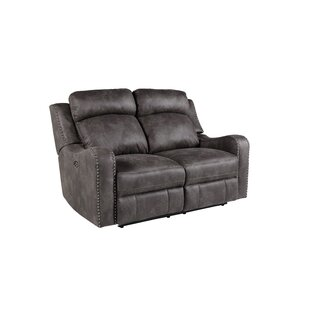 Williston Forge Candida Reclining Loveseat