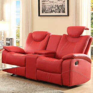 Erik Double Glider Reclining Loveseat by Latitude Run