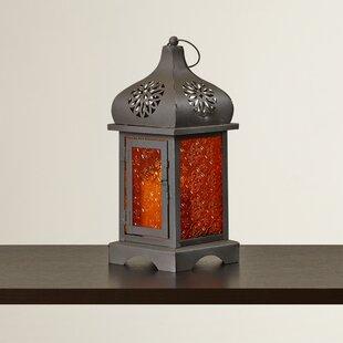 Finzade Glass and Metal Lantern