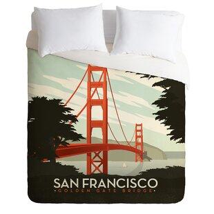 East Urban Home San Francisco Duvet Cover Set