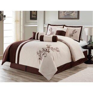 Fleur De Lis Living Beesley 7 Piece Soft Comforter Set