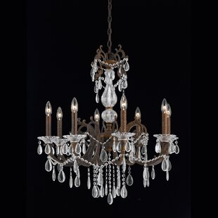 Astoria Grand Donat 8-Light Candle Style Chandelier