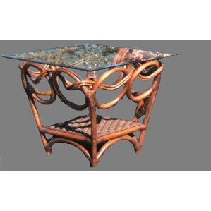 Caneel Bay End Table by Spice Islands Wicker