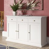 Semaj 56.57 Wide 3 Drawer Sideboard by House of Hampton®