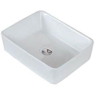 Best Price Ceramic Rectangular Vessel Bathroom Sink ByAmerican Imaginations