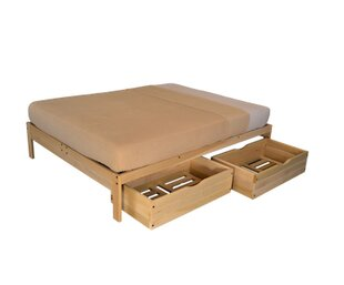 KD Frames Nomad Plus Storage Platform Bed