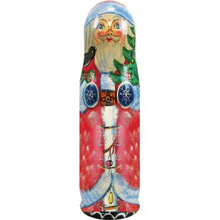 Fifer Santa Tree 1 Bottle Tabletop Wine R..
