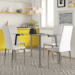 Haylie Dining Set With 4 Chairs By Zipcode Design
