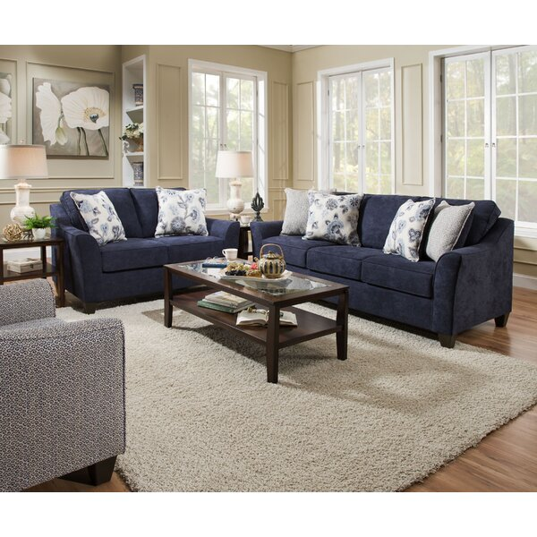 Navy Blue Sofa Set | Wayfair