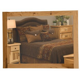 Fireside Lodge Simply Hickory Accent Mirror
