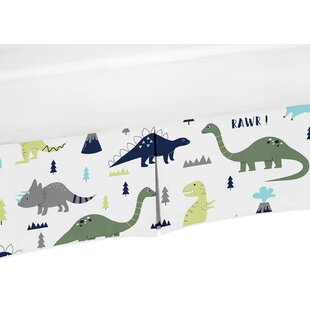 Inexpensive Mod Dinosaur Crib Skirt By Sweet Jojo Designs