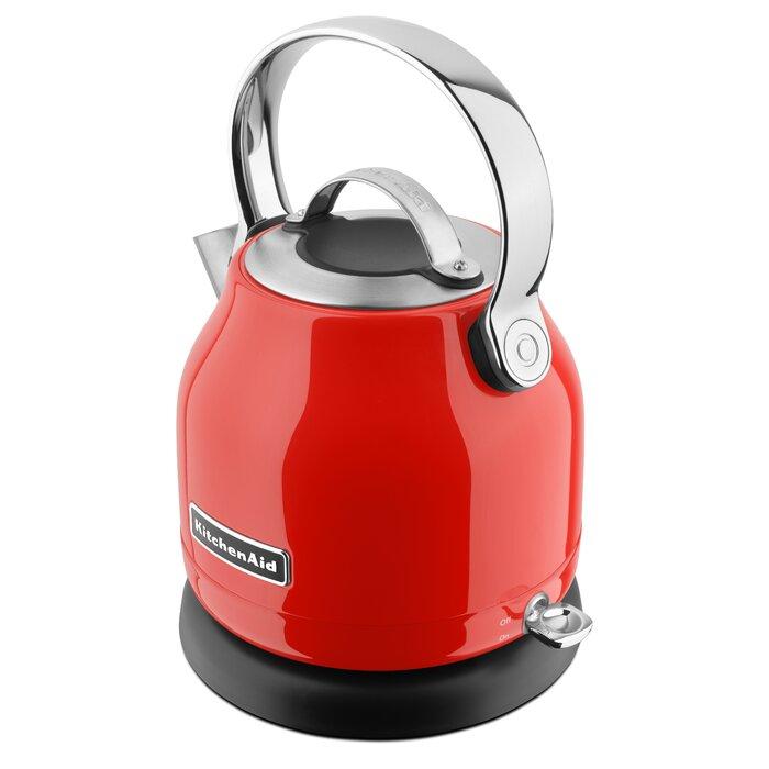 KitchenAid 1.25 Qt. Stainless Steel Electric Tea Kettle - KEK1222