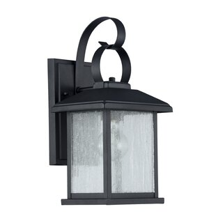 Gravesham 1-Light Outdoor Wall Sconce by Darby Home Co Comparison