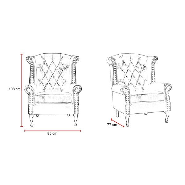 Hayden Wingback Chair