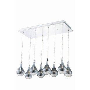 Alcinous 8-Light Pendant by Orren Ellis