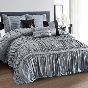Broadwater All Season Comforter Set by House of Hampton Best #1