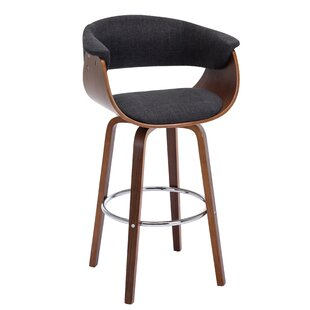 Salvador 28.5 Swivel Counter Stool George Oliver