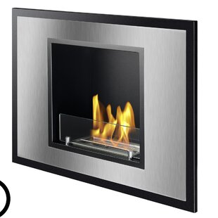 Vienna Ventless Wall Mounted Ethanol Fireplace By Ignis Products